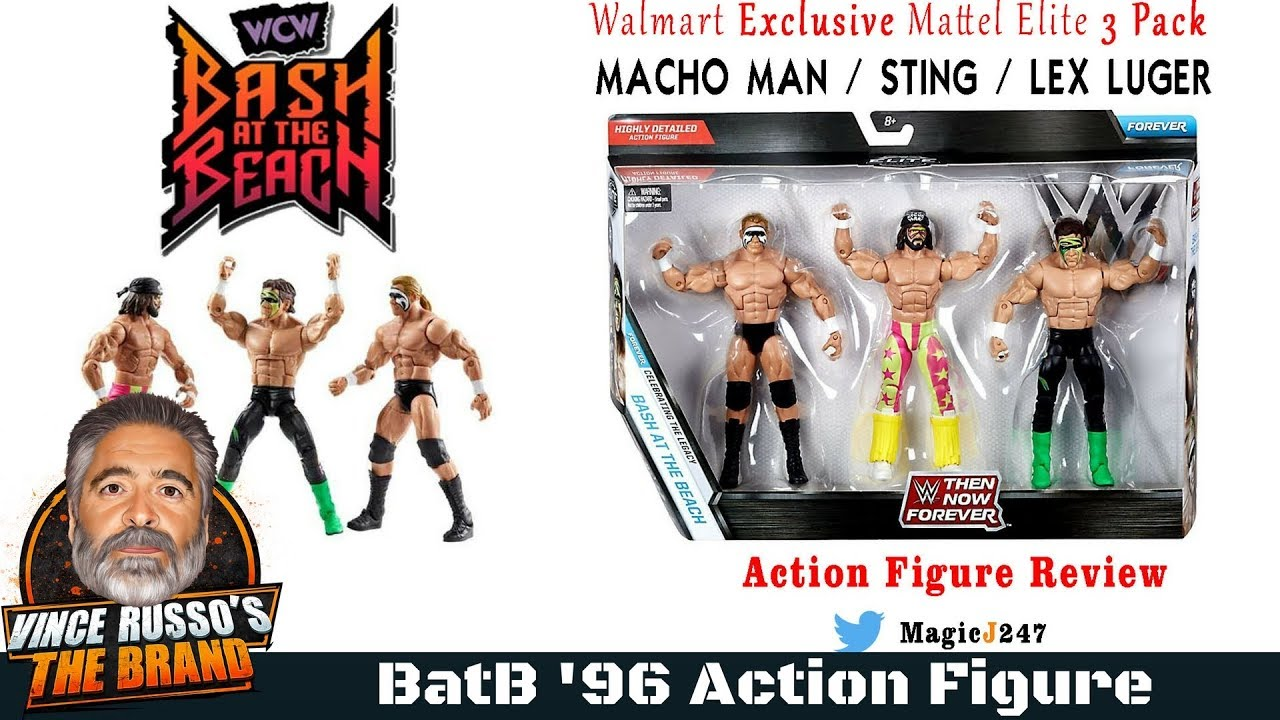 WWF WWE Then Now Forever Bash at the Beach Exclusive Action Figure Wrestling Toy