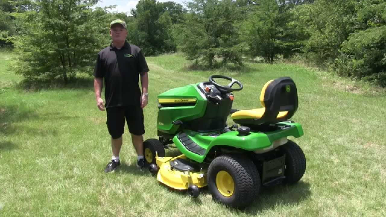 john deere x300 series dash review youtube. Black Bedroom Furniture Sets. Home Design Ideas