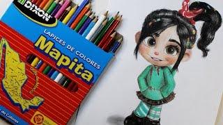 ¡RETO MAPITA!  [cheap art supply challenge] | Diana Díaz (English Subs)