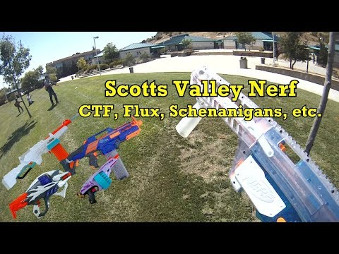 Scotts Valley Nerf Group 7/23/17 Highlights