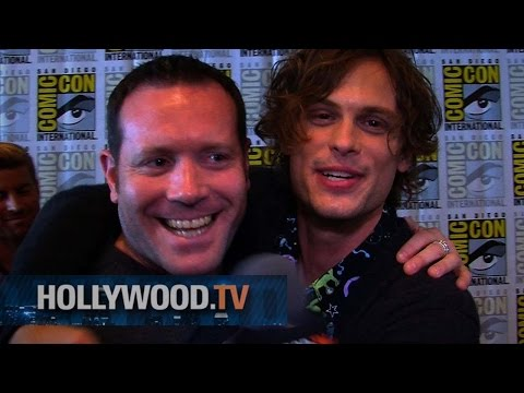 Matthew Gray Gubler aka Dr. Spencer Reid at Comic-Con - Hollywood.TV