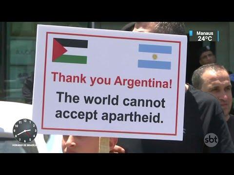 Seleção da Argentina cancela amistoso contra Israel em Jerusalém | SBT Notícias (07/06/18)