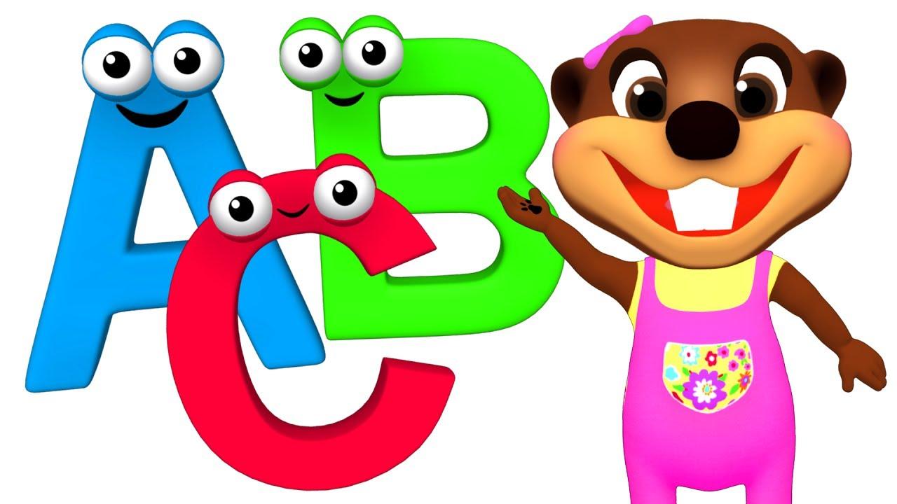 ABC Song for Children | Baby Talk Alphabet Phonics, Kids Learn ...