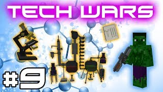 Minecraft Tech Wars - Crashed Space Ship! #9
