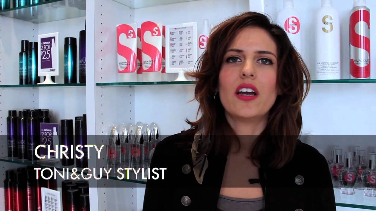 TONI&GUY Haircut Makeover | Long Curly Look to Short Sophisticated Style -  YouTube