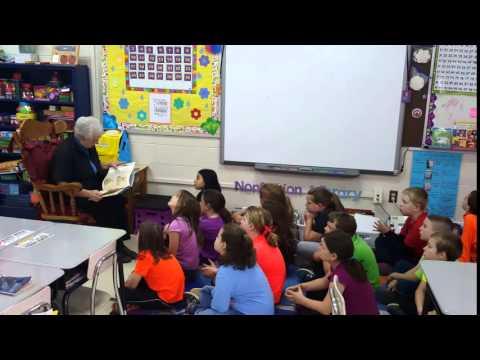 Mystery Reader at Forbush Elementary School