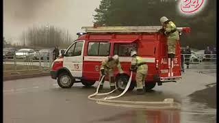 Главные помощники огнеборцев: выставка пожтехники