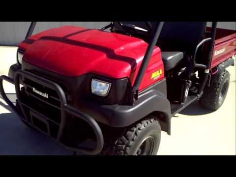 2007 Kawasaki Mule 3010 4X4 - YouTube