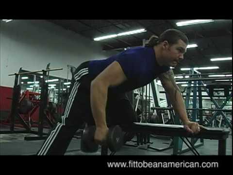 One Arm Dumbbell Row - YouTube