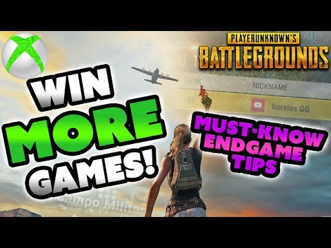 PUBG XBOX end game tips - Win more solo games!
