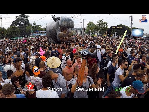 Street Parade 2017, Zurich Switzerland (Sexy Party)