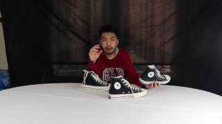 Converse Chuck Taylor- 70's All Star Hi: Unboxing, review & on feet