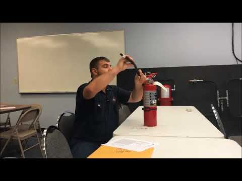 What Happens During Annual Fire Extinguisher Service