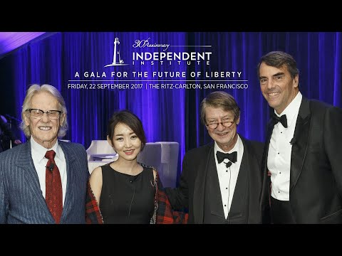 Independent Institute Gala for the Future of Liberty 2017 (Full video)