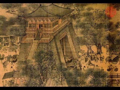 張擇端清明上河圖数字版 Zhang Zeduan QINGMING-ROLLE von Animation.VOB