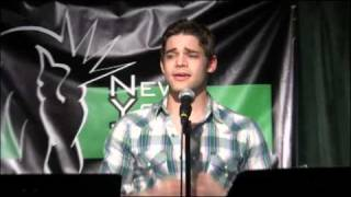 """NYTB: Jeremy Jordan sings """"Wall Lovin"""" from SING, BUT DON'T TELL: An Evening of Carner & Grego"""