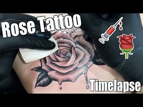 1 HOUR TATTOO!! Tattoo Timelapse - Romeo Lacoste ft. Tanner Braungardt