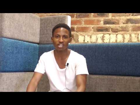 Joseph Mokone - digital tutor for Africa