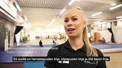 Voimistelu-lehti 2/2019 - Kajaani Gymnasticsin kilpa-aerobicin tehotrio