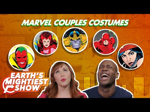 Some extremely doable Marvel inspired couple's costume ideas for Halloween!