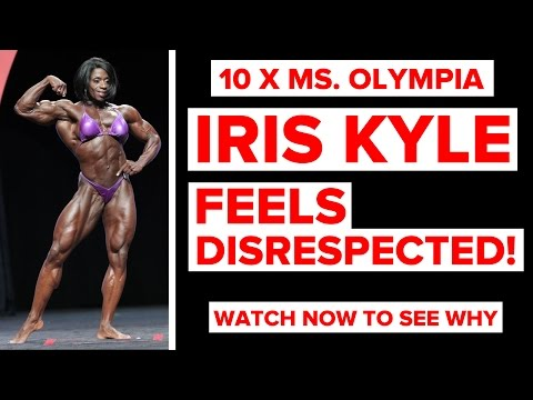 Iris Kyle (10 x Ms. Olympia) Feels Disrespected! See Why | Live With | RXMuscle.com