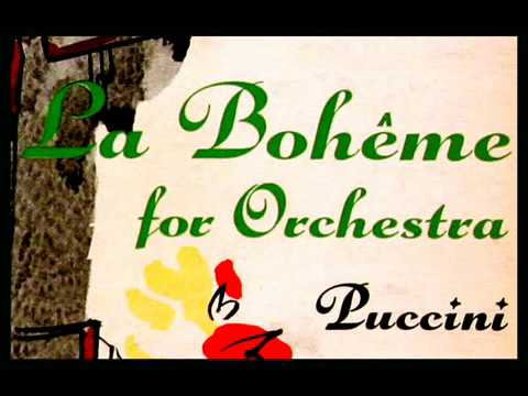 Puccini / Andre Kostelanetz, 1956: La Bohème (Transcription for Orchestra) - Columbia LP