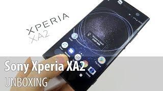Sony Xperia XA2 Unboxing în Limba Română (Telefon midrange cu cameră de 23 MP, filmare 4K)