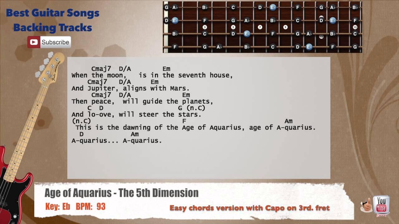 Age of Aquarius - The 5th Dimension (lyrics) HD - YouTube