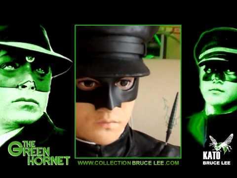 bruce lee kato green hornet 1 1 bust lifesize youtube. Black Bedroom Furniture Sets. Home Design Ideas