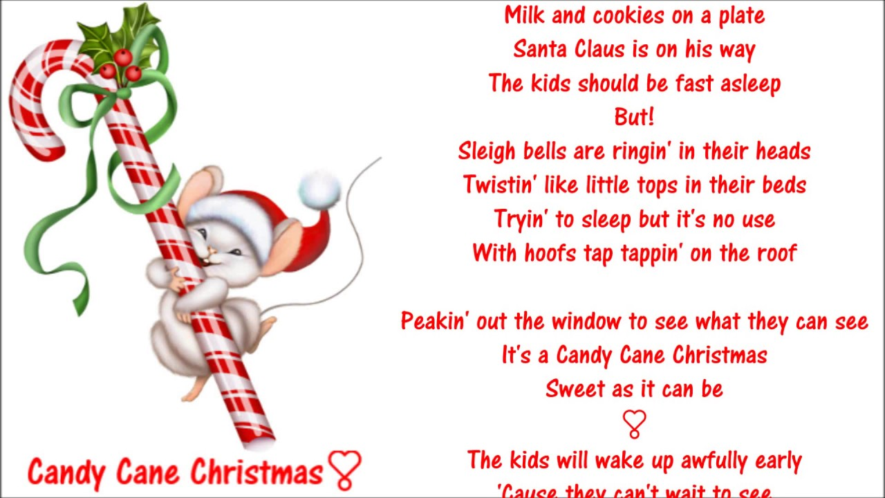 Candy Cane Christmas ༺♥༻ Darius Rucker (Hootie)😊 - YouTube