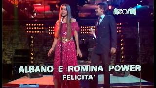 ♫ Albano e Romina Power ♪ Felicità (TV Show 1982) Video & Audio Remastered HD