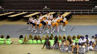 De Witt High Varsity Cheer Camp 2010 Home Pom Dance