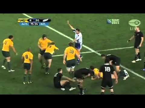 Sonny Bill's handshake and send-off