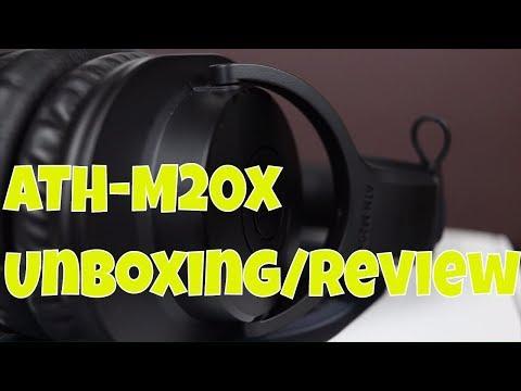 Audio Technica ATH M20x Unboxing & Review - Studio Monitor Headphones 🎧