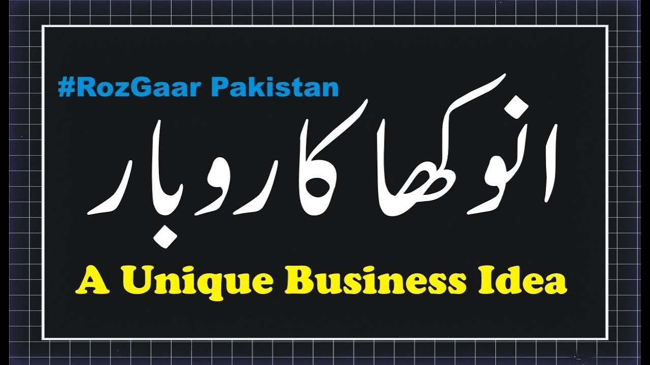 Apna Karobar?? A Unique Business Idea Of 2018 || Small Investment