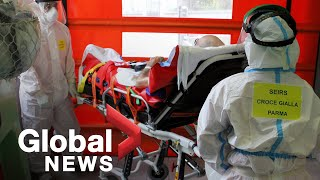 Coronavirus: Video of dead man in hospital lavatory spotlights Italy coronavirus crisis