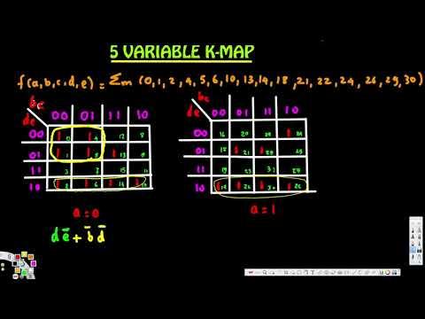 5 - Variable K- Map - Digital Logic Design 1