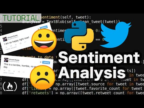 Tweet Visualization And Sentiment Analysis In Python - Full Tutorial