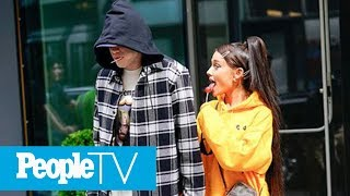 Pete Davidson Confirms Engagement To Ariana Grande & Says Men Tell Him 'You Gave Me Hope' | PeopleTV