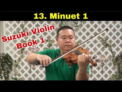 Suzuki Violin School - Book 1 - Minuet 1