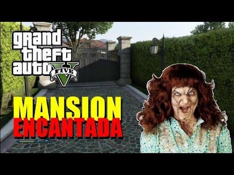 GTA 5 ONLINE / LA MANSION ENCANTADA /TROLLEO