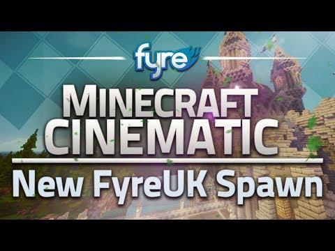 Minecraft Cinematic - New FyreUK Spawn World