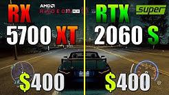 RTX 2060 Super vs. RX 5700 XT | Test in 8 Games