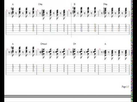 Train Drive By Easy Guitar Lesson Download Notes Tabs