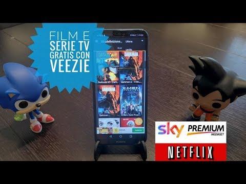 Come vedere film e serie tv GRATIS su Android con Veezie