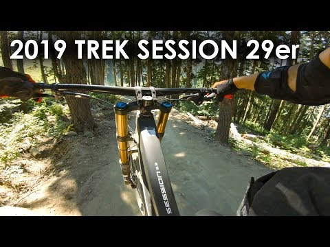 "Are 29"" DH Bikes in your future? 2019 Trek Session 29er Demo Ride - Whistler 