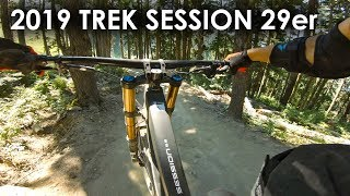 """Are 29"""" DH Bikes in your future? 2019 Trek Session 29er Demo Ride - Whistler"""