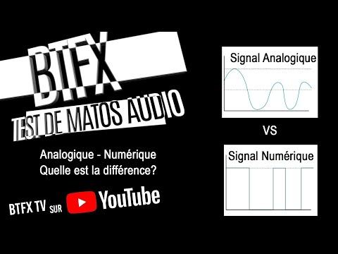BTFX  Analogique vs Numérique? Quelle est la différence?