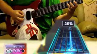 RB3 - Owner Of A Lonely Heart - Pro Guitar Expert Leaderboard #1 GS (hand zoom)