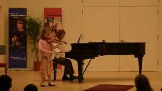 Violin concerto in a-minor by  J.B. Accolay - Performed by Katarina Spasojevic (age 7)